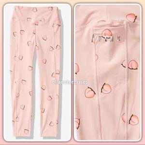 VS Pink Euphoria Pink Peaches Ultimate V Legging